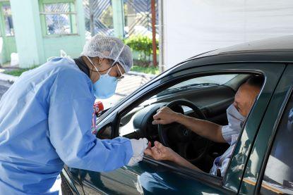 São Caetano inicia testagem em massa de idosos contra a covid-19