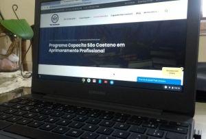 Capacita São Caetano já chega a 6 mil inscritos nos cursos gratuitos on-line