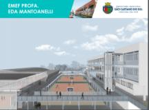 Prefeito de São Caetano assina Ordem de Serviço para criação do Complexo Escolar Professora Eda Mantoanelli