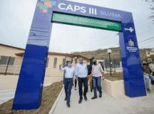 investimento total da obra foi de R$ 2.064.693,39 em parceria com o Governo Federal, por meio do Ministério da Saúde. Foto: Gabriel Inamine/PMSBC