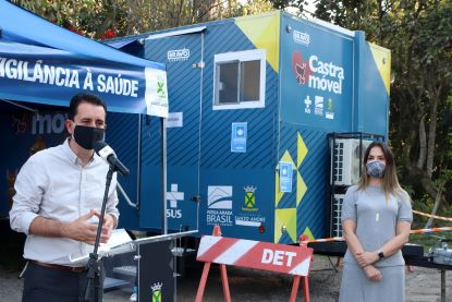 """Serra: """"consideramos a causa animal como ferramenta de política pública de saúde e essa causa vem evoluindo"""". Foto: Helber Aggio/PSA"""