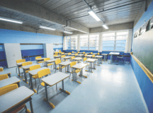 Sindicato diz que escolas estão preparadas para acolher os alunos. Foto: Gabriel Inamine/PMSBC
