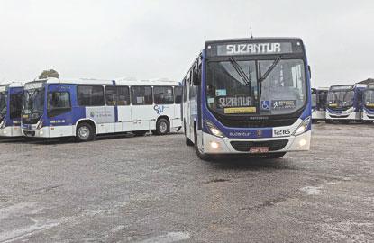 Ao todo serão 63 ônibus, mas apenas 41 começarão a circular na próxima semana. Foto: Adriana Horvath/PMD