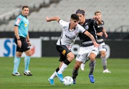 Jô marca nos acréscimos e dá empate ao Corinthians com o Botafogo