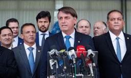 """Bolsonaro: """"queremos monstrar que o Brasil é confiável"""". Foto: Alan Santos/PR"""