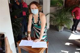 MDB oficializa Vanessa Damo candidata ao Paço de Mauá