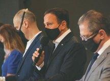 """Doria: """"nossa conversa é republicana. Não fazemos conversas políticas"""". Foto: Governo do Estado de SP"""