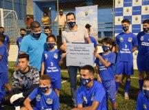 Campo do Albatroz recebe partidas da Liga de Futebol Amador de Diadema e aulas do Programa Bola e Cidadania. Foto: Mauro Pedroso/PMD