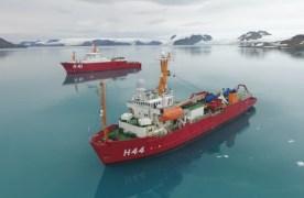 Embarcação vai dar suporte ao Programa Antártico Brasileiro.Foto: Reprodução/www.marinha.mil.br