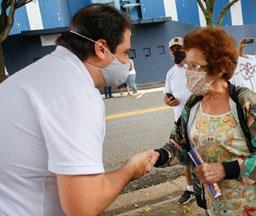 """Fico muito feliz em ver como os nossos planos e projetos estão sendo muito bem recebidos nas ruas"""", afirma Palacio. Foto: Divulgação"""
