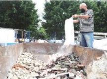 Ecopontos recebem 2.500 t de resíduos de construção por mês. Foto: Divulgação/Semasa