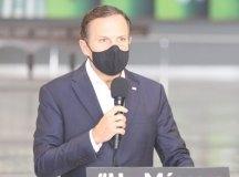 """Doria: """"faremos essa reunião com o objetivo de melhorar o controle da pandemia nesses municípios"""". Foto: governo do Estado de SP"""