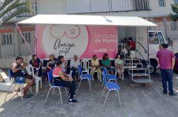Unidade móvel ficará estacionada no bairro Taboão até esta sexta-feira (08/01); estrutura percorrerá outras quatro regiões da cidade ainda em janeiro