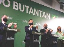 Doria diz que é preciso senso de urgência da Anvisa, que solicitou mais dados da Coronavac ao Butantan . Foto: Governo do Estado de SP