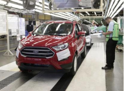 Fábrica de Camaçari emprega cerca de 4 mil trabalhadores. Foto: Divulgação/Ford