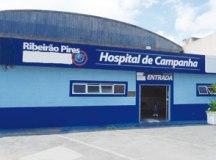 Ocupação de leitos de enfermaria no equipamento atingiu 100%. Foto: Divulgação/PMETRP
