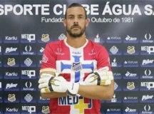 Água Santa contrata goleiro Matheus Inácio, ex-Bangu, para a Série A2