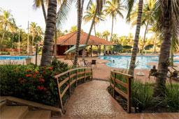 Resort fica às margens da Represa da Água Vermelha. Foto: Divulgação