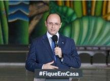 Soares informou que escolas vão receber 35% dos alunos. Foto: Governo do Estado de SP