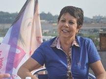"""""""Sinto que o povo se identificou com a Ana do Carmo"""", diz a petista. Foto: Divulgação"""