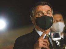 Bolsonaro ataca 'lockdowns' dos Estados e diz ver 'problemas sérios' pela frente. Foto: Arquivo/PR