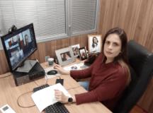Vereadora Ana Veterinária pede ação proativa da prefeitura na busca pelos 10 mil andreenses que não tomaram a 2ª dose da vacina contra covid. foto: divulgação