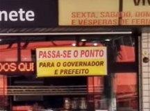 "Cerca de 140 comerciantes criaram ""Protesto Silencioso"" nas regiões central e de alguns bairros de Diadema. Foto: Wilson de Sá especial para o DR"