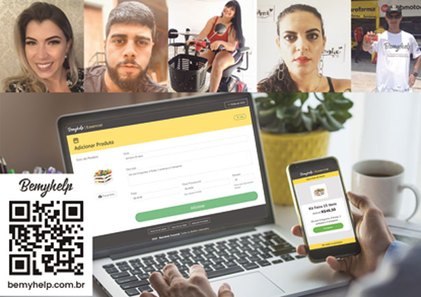 Moradores de Diadema desenvolvem app para ajudar comércio e entregadores em tempos de covid