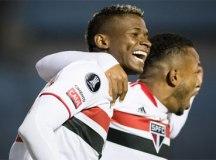 São Paulo empata com Rentistas e fica perto das oitavas da Libertadores