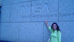 Em 2008, Norma Reis estagiou por 3 meses na Nasa Foto: Divulgação