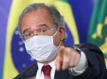 Guedes destacou que a decisão final sobre a extensão do auxílio é do presidente. Foto: Marcos Correa/PR