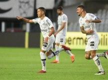 Sem sustos, Santos ganha outra do Cianorte e avança na Copa do Brasil