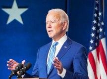 """Biden: """"Reconhecemos que extinguir esta pandemia significa acabar com ela em todos os lugares"""". Fotos: Twitter/Biden"""