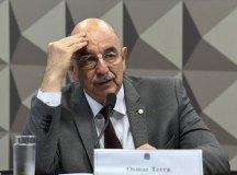 """Osmar Terra foi convidado a falar à CPI por ser apontado como integrante do suposto """"gabinete paralelo"""". Foto: Jefferson Rudy/Agência Senado"""