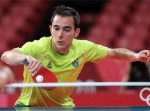 Calderano leva virada de alemão e está eliminado dos Jogos de Tóquio