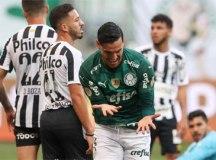 Palmeiras derrota o Santos e soma a quinta vitória consecutiva no Brasileirão