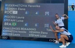 Brasileiras Luisa Stefani e Laura Pigossi faturam improvável bronze em Tóquio