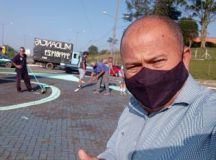 Claudinho da Geladeira registra BO sobre ameaça de morte. Foto: reprodução Facebook