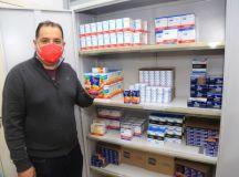 Marcelo Oliveira: Itens como fluoxetina, em falta desde 2020, já estão disponíveis. Foto: Divulgação/PMM