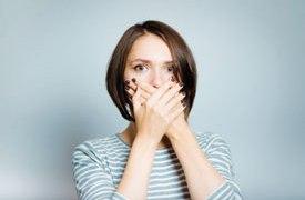 Pessoas em crise asmática tendem a respirar pela boca. Foto: Divulgação