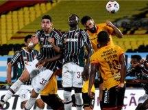 Fluminense empata com Barcelona no Equador e é eliminado da Libertadores