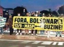 as faixas já passaram em santo andré, são Bernardo, são Caetano e Mauá. Foto: Divulgação/MBL