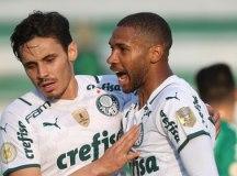 Palmeiras decide no 1º tempo, vence a Chapecoense e se recupera no Brasileirão