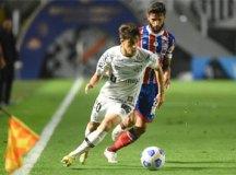 Na estreia de Carille, Santos fica apenas no empate sem gols com o Bahia