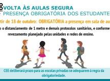 Doria anuncia retomada obrigatória às aulas presenciais a partir do dia 18. Foto: Governo do Estado de São Paulo