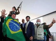 Episódio aconteceu na sexta-feira, quando Bolsonaro participou de cerimônia de sanção de projeto para obras do metrô da capital mineira. Foto: Isac Nóbrega/PR