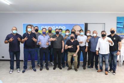 Deliberação ocorreu após reunião da executiva municipal realizada na sede da sigla no município. Foto: Divulgação
