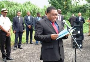Nicolas Obama Nchama Ministro de Seguridad Nacional