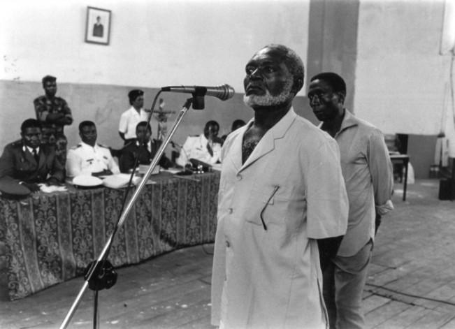 Gabriel Nse Obiang; Roberto Mba Ndong; Santiago Mauro Ndong e Inocencio Ngomo Ndong