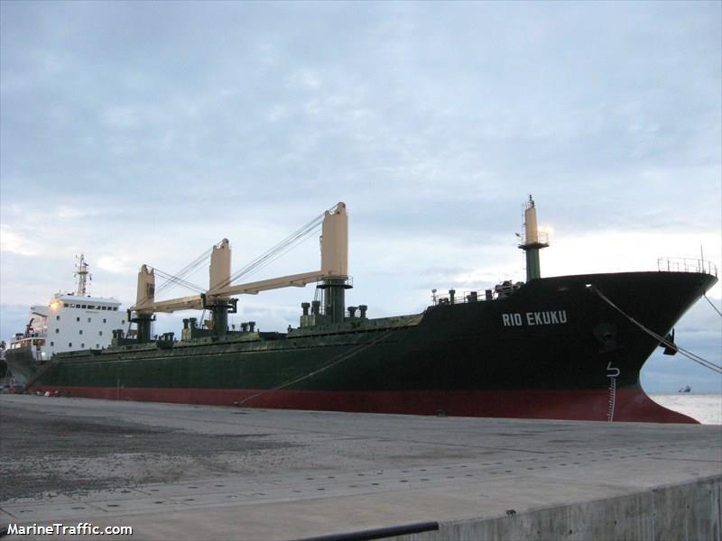 Marinetraffic.com: RIO EKUKURio Ekuku appears in the center of a chain of transactions among Panamanian companies involving tens of millions of US Dollars.